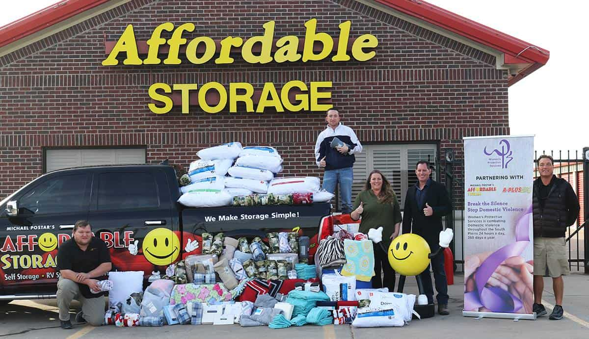 Affordable Storage Lubbock TX supports community