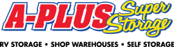 A Plus Super Storage Lubbock Logo